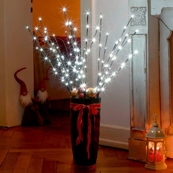 LED-Leuchtzweige Sternennacht, 3er-Set | #2