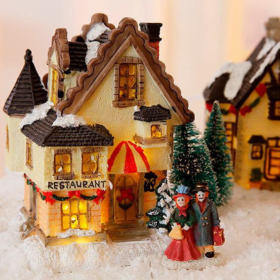 weihnachtsdorf 17 teilig online kaufen bei g rtner p tschke. Black Bedroom Furniture Sets. Home Design Ideas