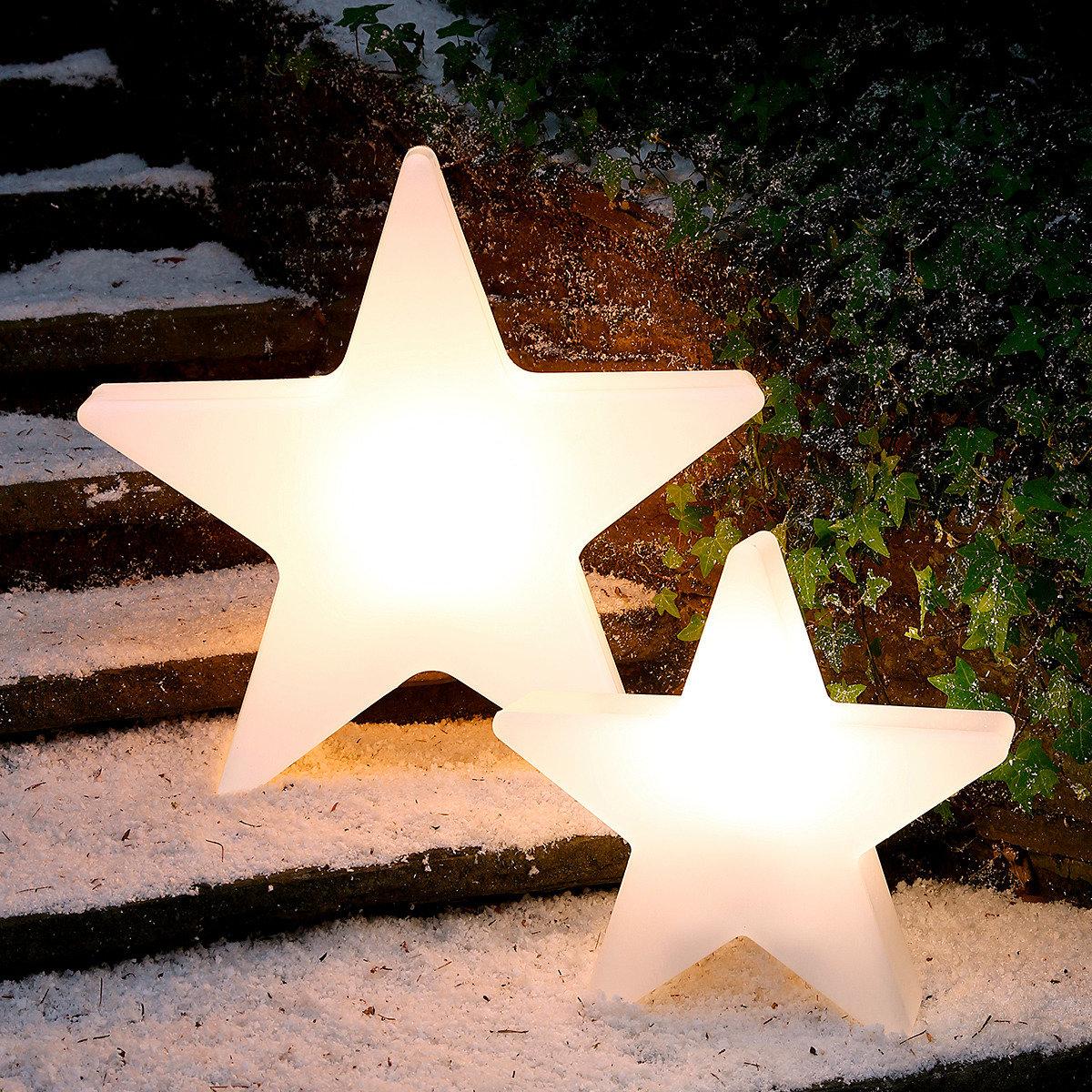Maxi leuchtstern shining star klein von g rtner p tschke for Gartendeko katalog