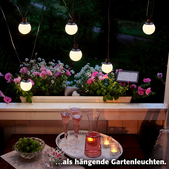 LED Solar-Lichterkette Big Balls, 6-teilig | #2