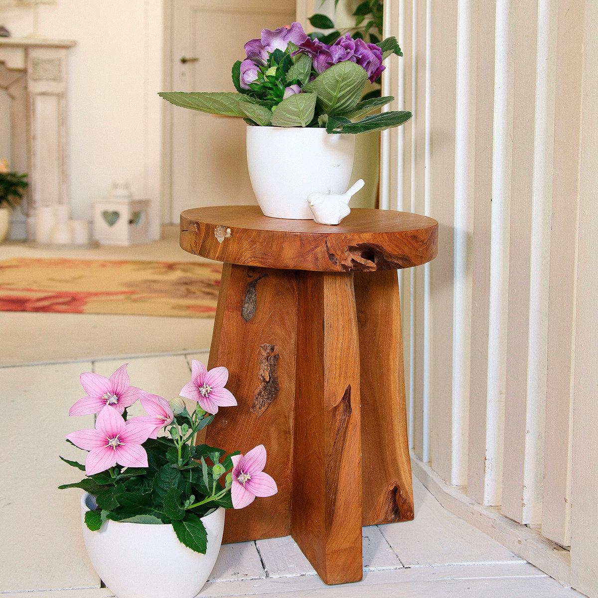 teak beistelltisch old times von g rtner p tschke. Black Bedroom Furniture Sets. Home Design Ideas