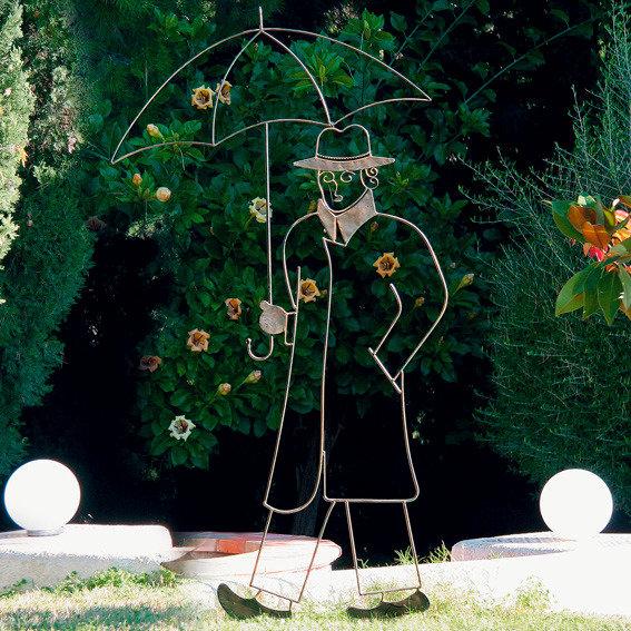 Garten-Skulptur Rain in London | #2