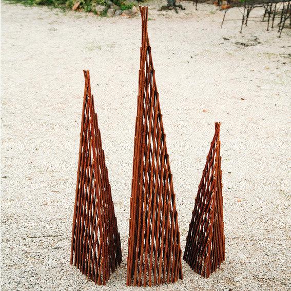 Rankhilef Weidenpyramide Rosenstolz, mittel | #2