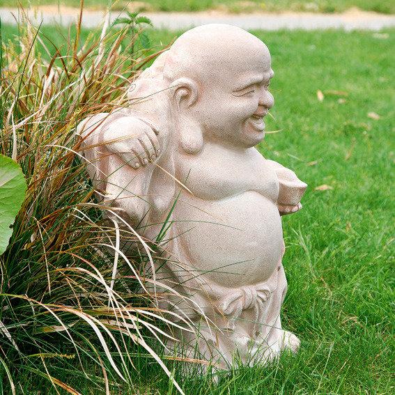 Terracotta-Figur Crazy Buddha | #2