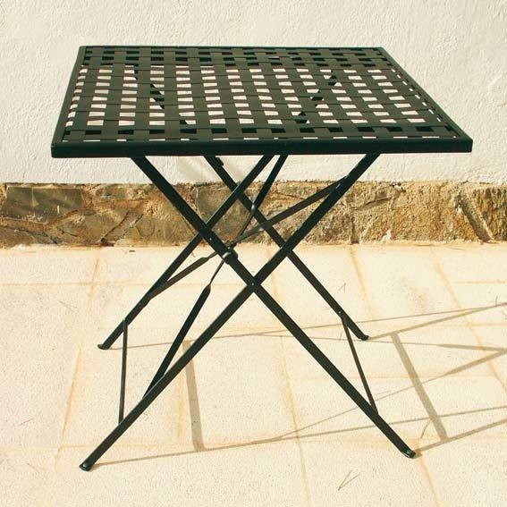 Sitzgruppe Casablanca, 1 Quadrat-Tisch + 2 Stühle | #2