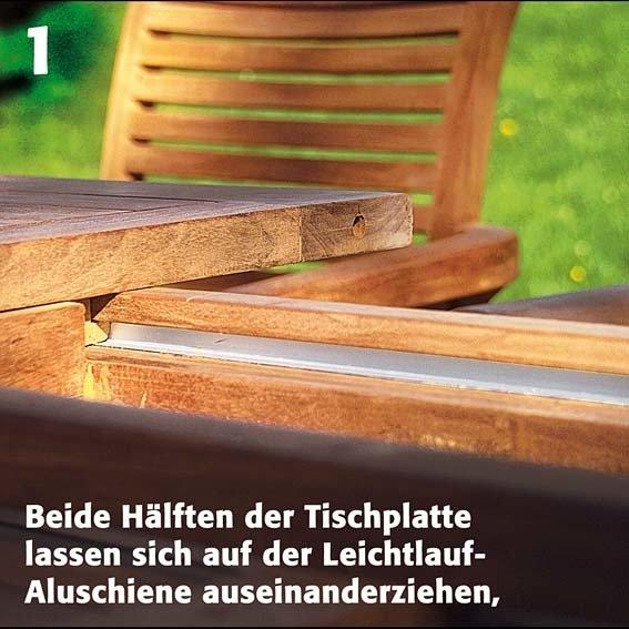 TEAK-Maxi-Tisch King Henry, Länge 200-300 cm | #2