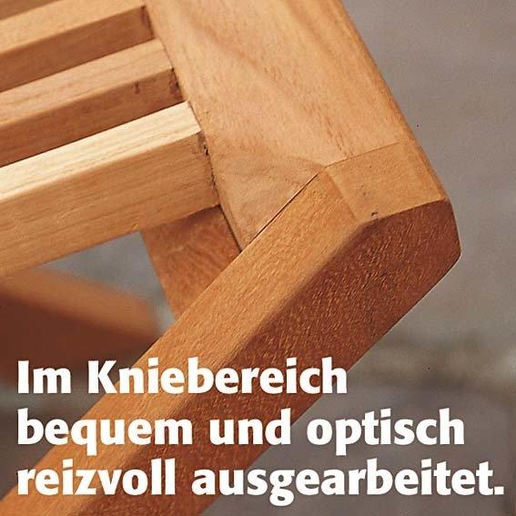 TEAK-Klappstuhl Elegance mit Armlehne | #2