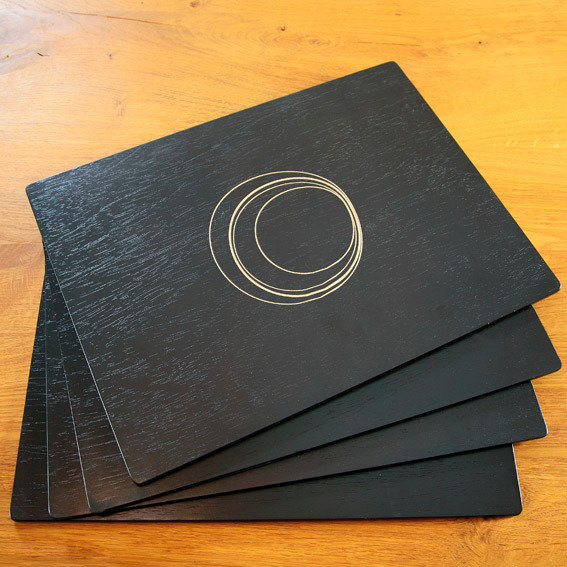 Tischsets Circles, 4er-Set | #2