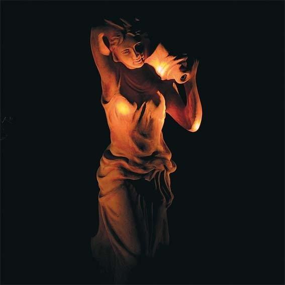 Terracotta Garten-Skulptur & Wasserspiel Athena | #2