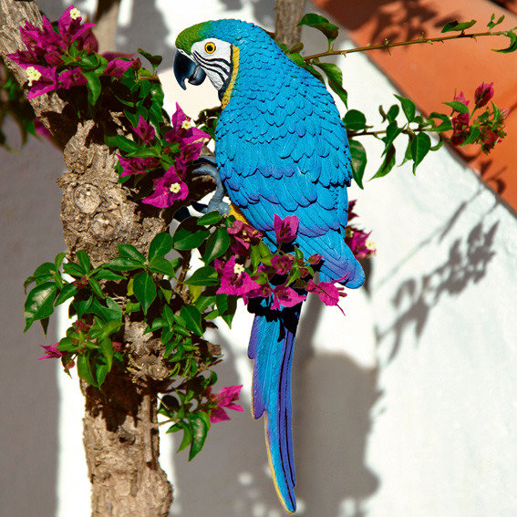 Gartenfigur Papagei Lora | #2
