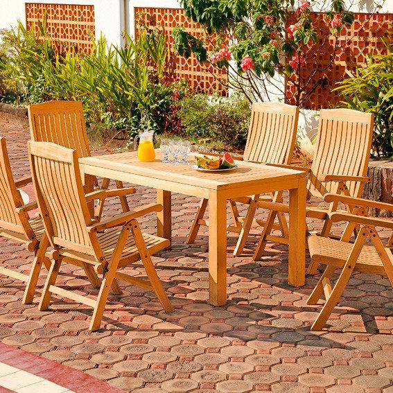 TEAK-Rechteck-Tisch Wimbledon Park | #2