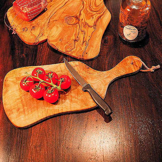 Olivenholz-Brettchen, groß   #2