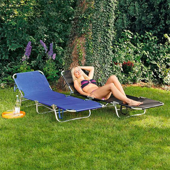 Sonnenliege Enjoy it mit Sonnendach, beige | #2