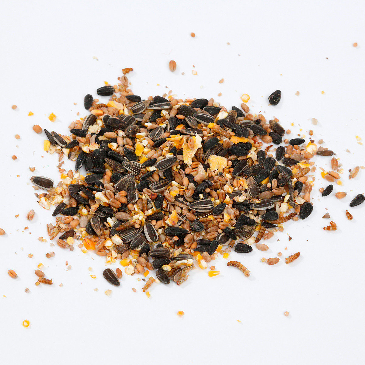 Streufutter mit insekten 2kg von g rtner p tschke for Gartentiere deko