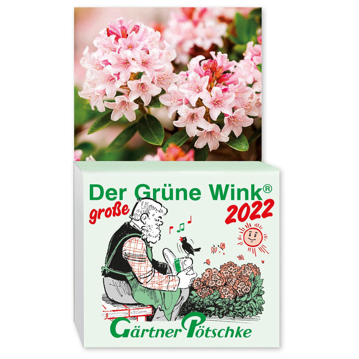 Abreißkalender Der große Grüne Wink®   #2