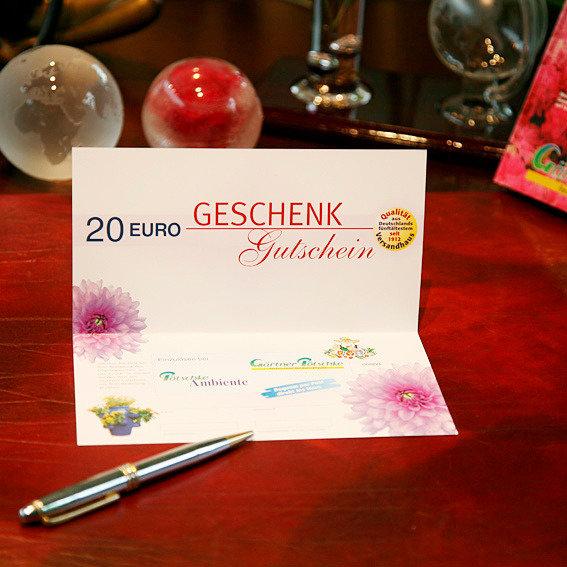 Gärtner Pötschkes Geschenk-Gutschein 20,- Euro | #2
