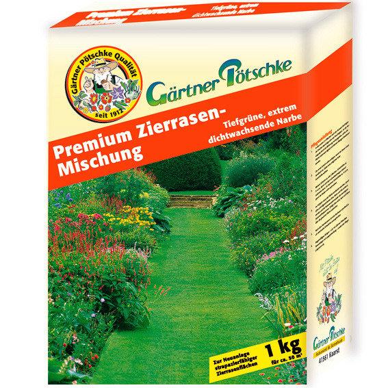 Gärtner Pötschkes Premium-Zierrasensamen, 1 kg | #2