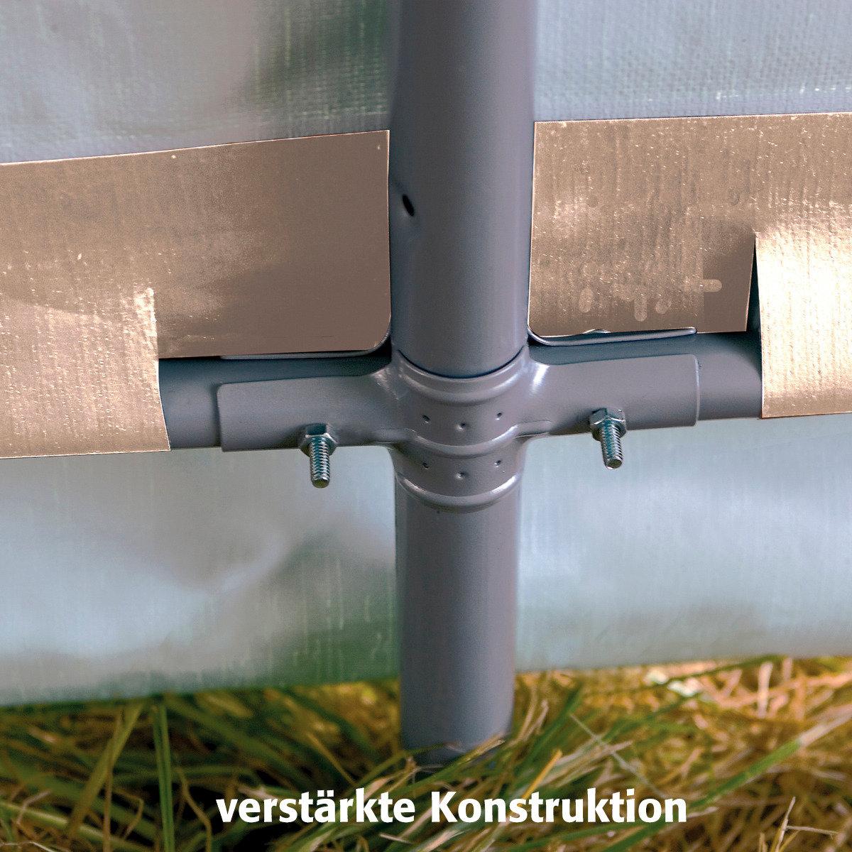 ShelterLogic Folien Gerätehaus 9m² inkl. Sturmanker | #3