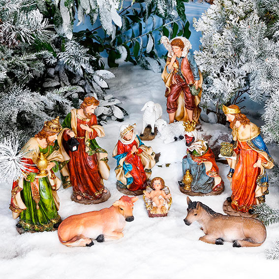 Außen-Krippenfiguren, Set Heilige Familie | #3