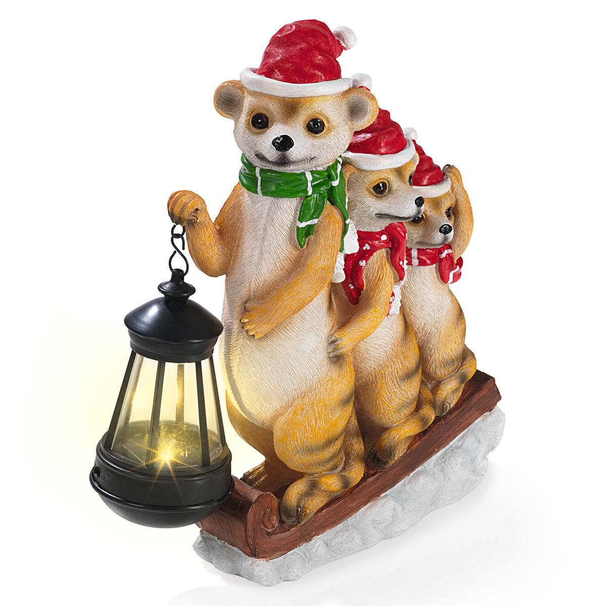 Solar-Weihnachts-Erdmännchen | #3