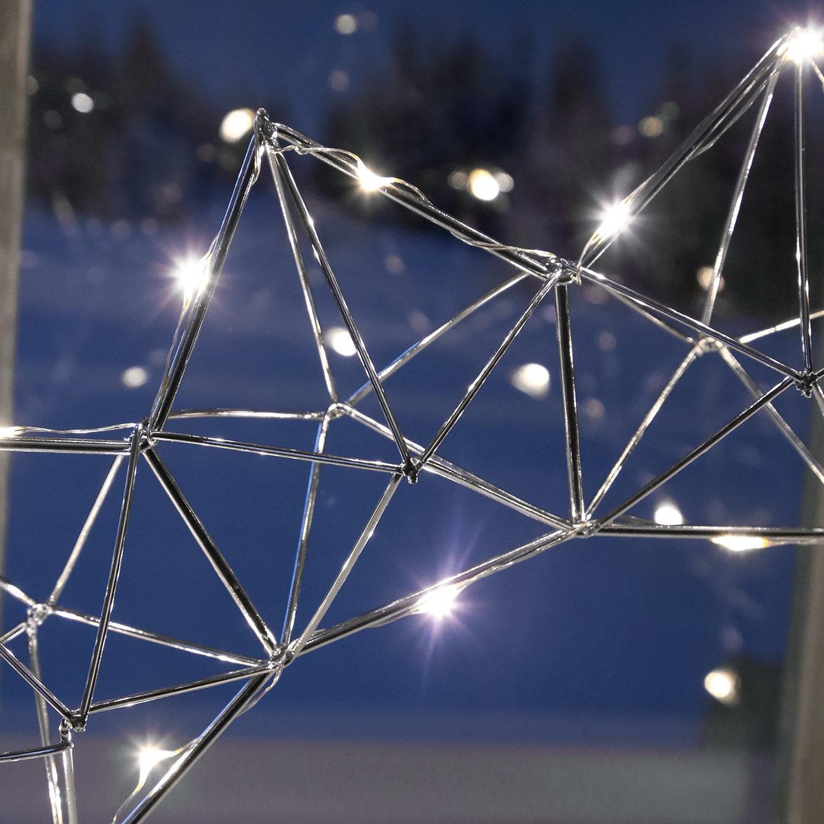 LED-Fensterleuchter Modern Christmas, 25 LEDs | #3