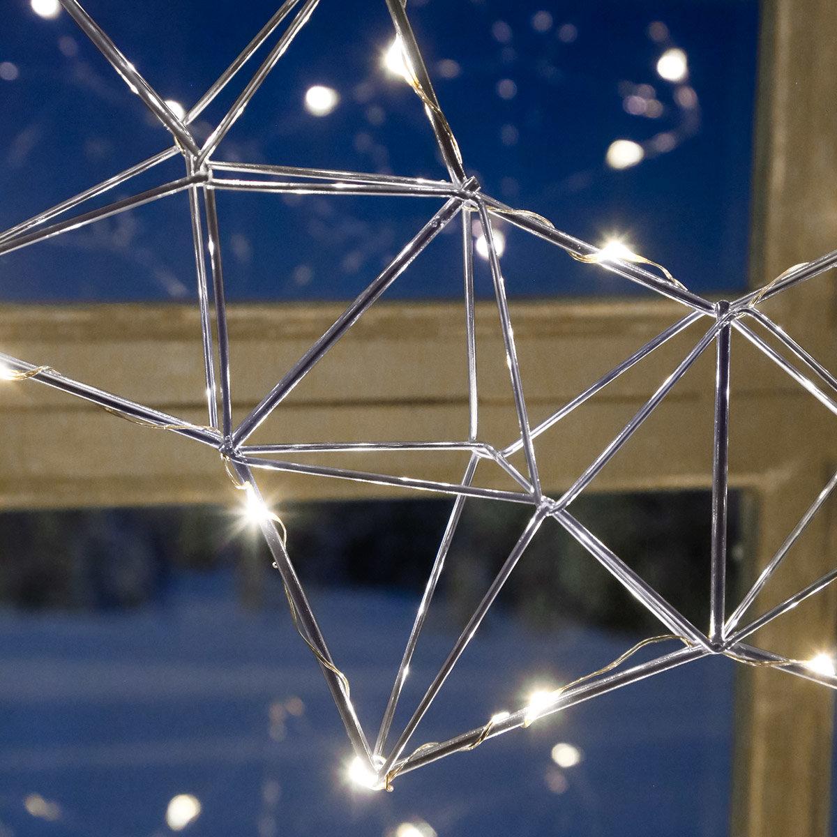 LED-Leuchtstern Modern Christmas, 30 LEDs | #3