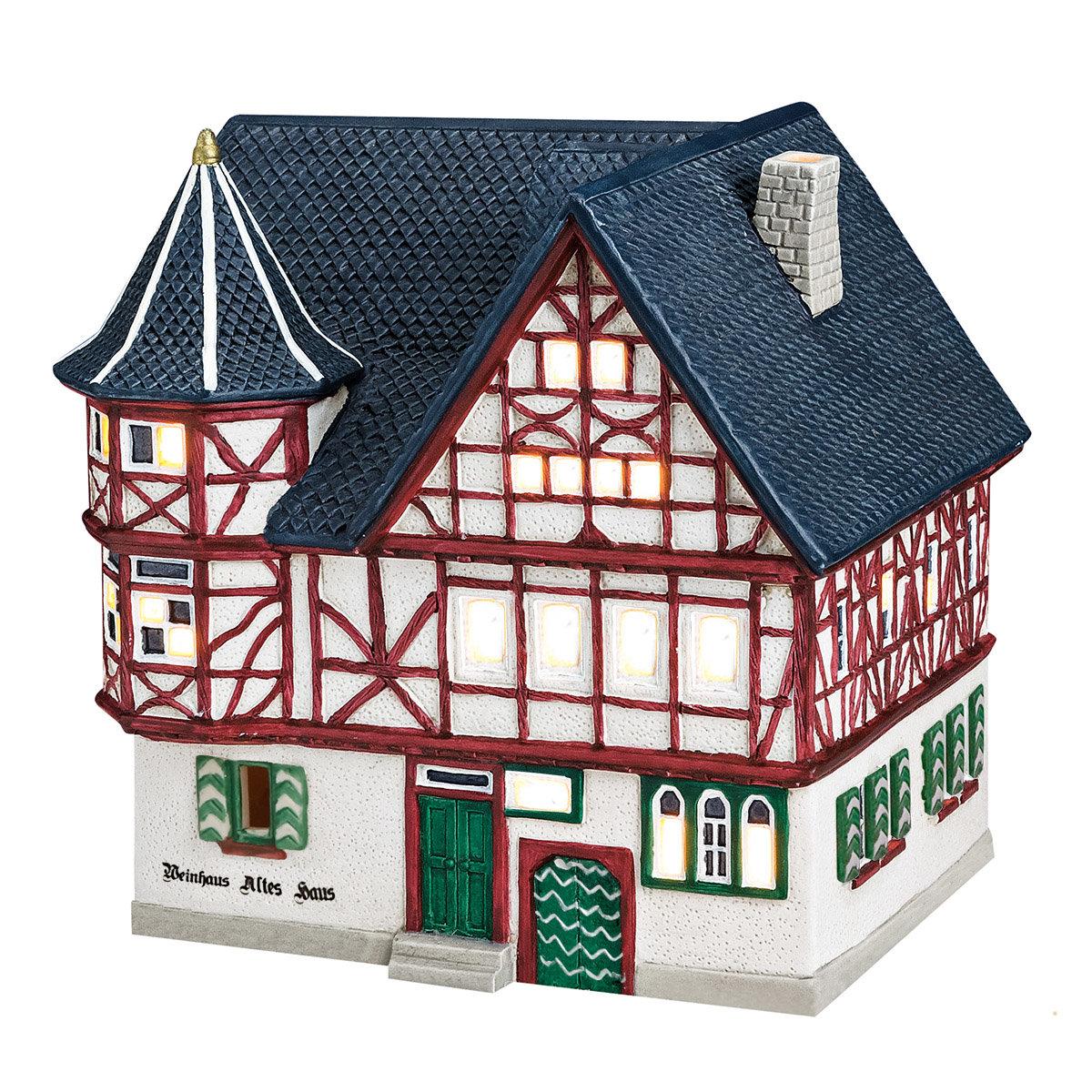 Miniatur-Lichthaus Altes Weinhaus in Bacharach | #3