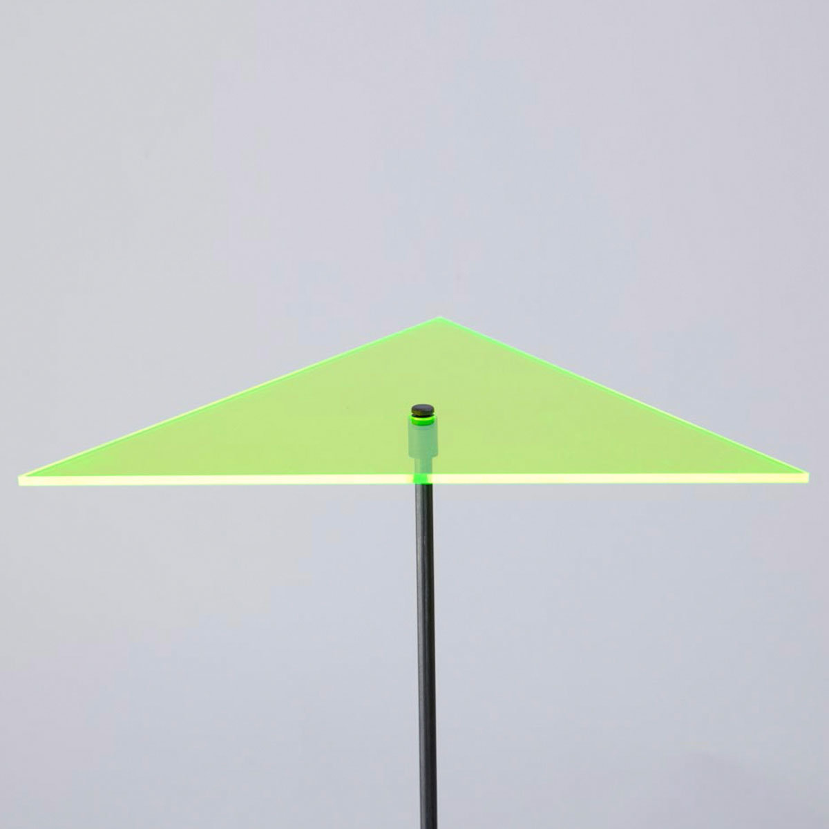 sunart® Acrylglas Lichtfänger, Dreieck, grün   #3