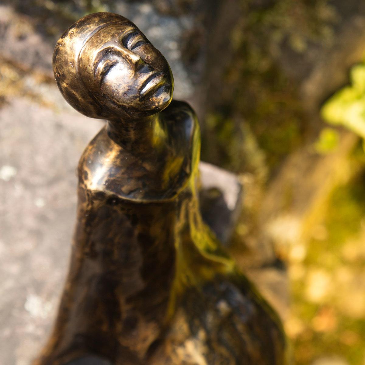 Bronze-Figur Sternbeobachterin Stella | #3