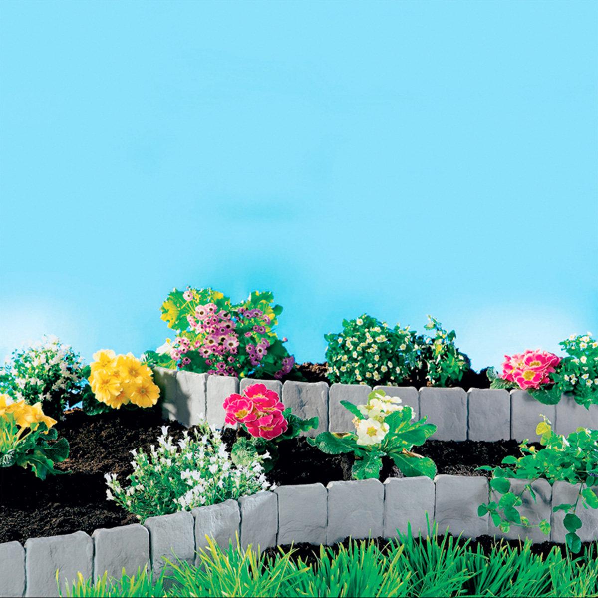 Gartenzaun Terra, 10er-Set | #3