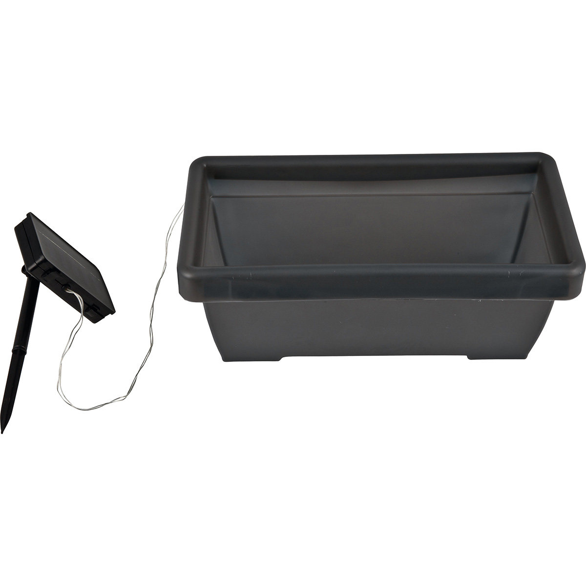 HEITRONIC® Solar LED-Blumenkasten | #3