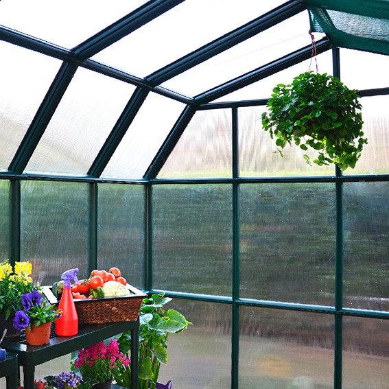 Gewächshaus Grand Gardener 48 mit Fundamentrahmen | #3