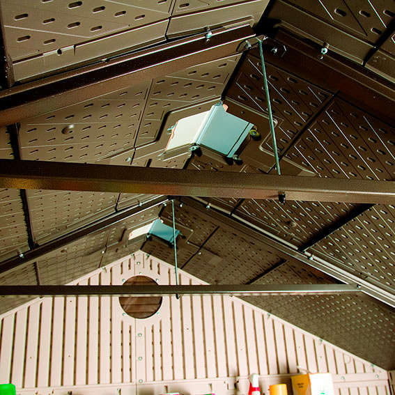 Lifetime Gerätehaus Garten-Villa inklusive Zubehör | #3