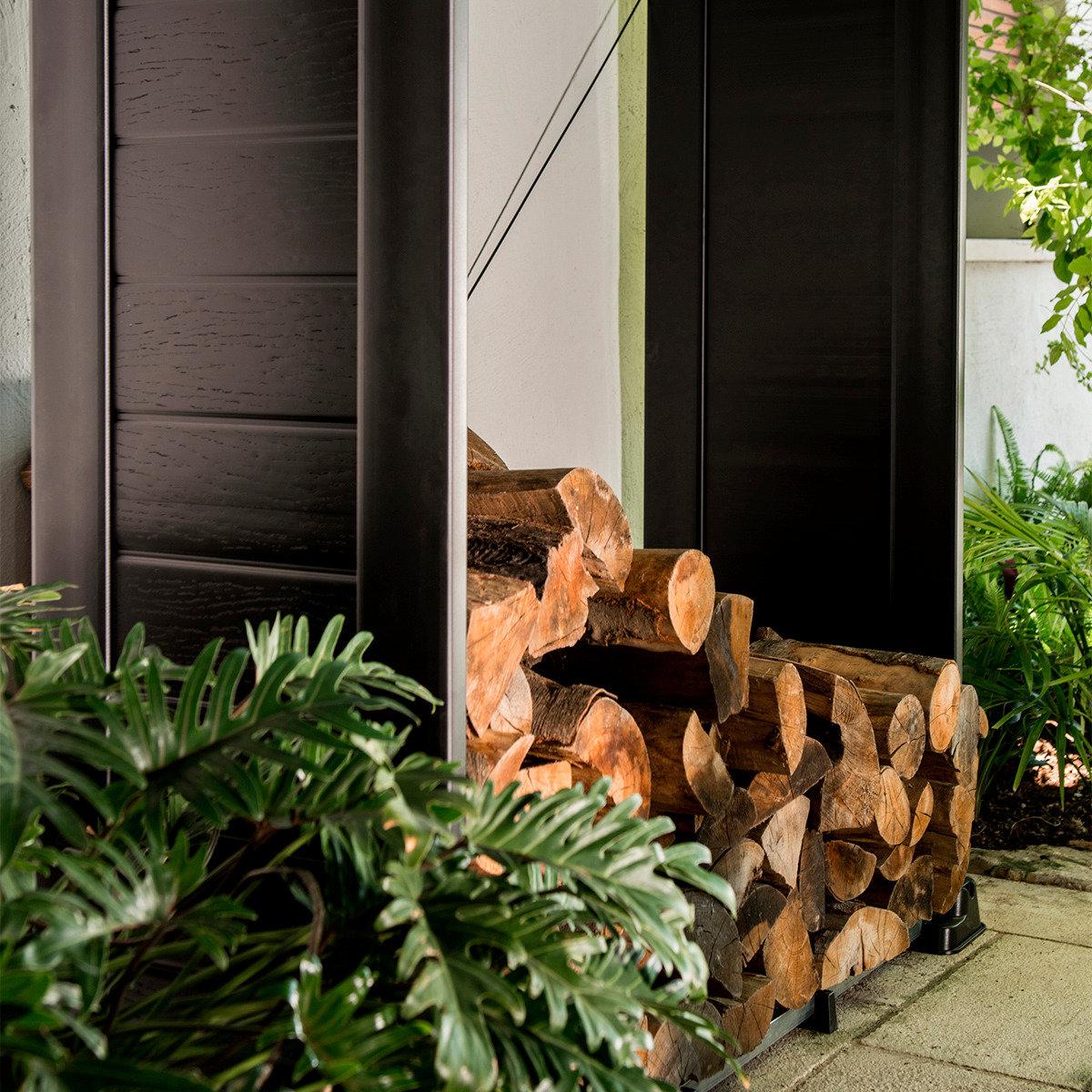 Firewood Shelter Kaminholzregal | #3
