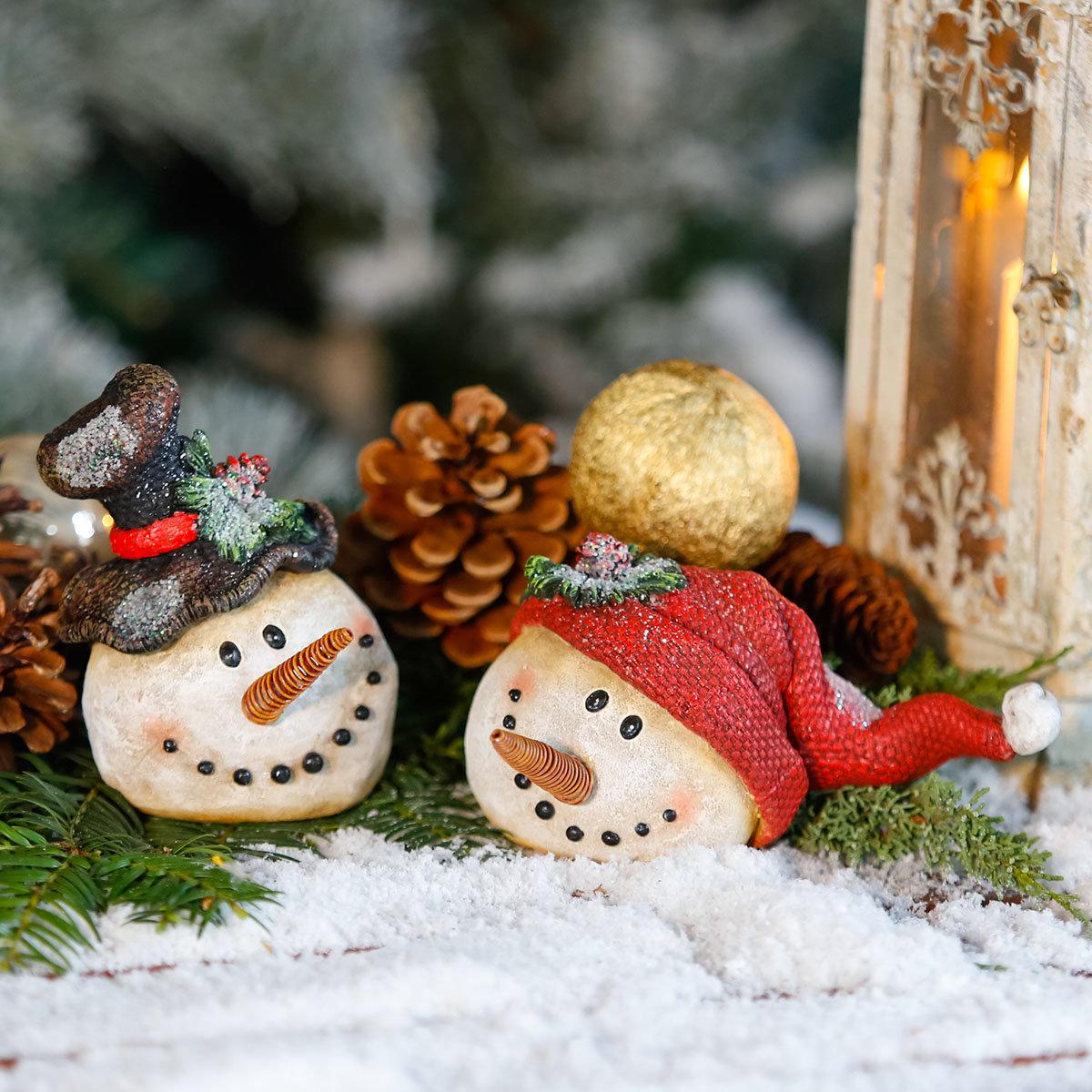Schneemanngesicht Michi Mütze | #3