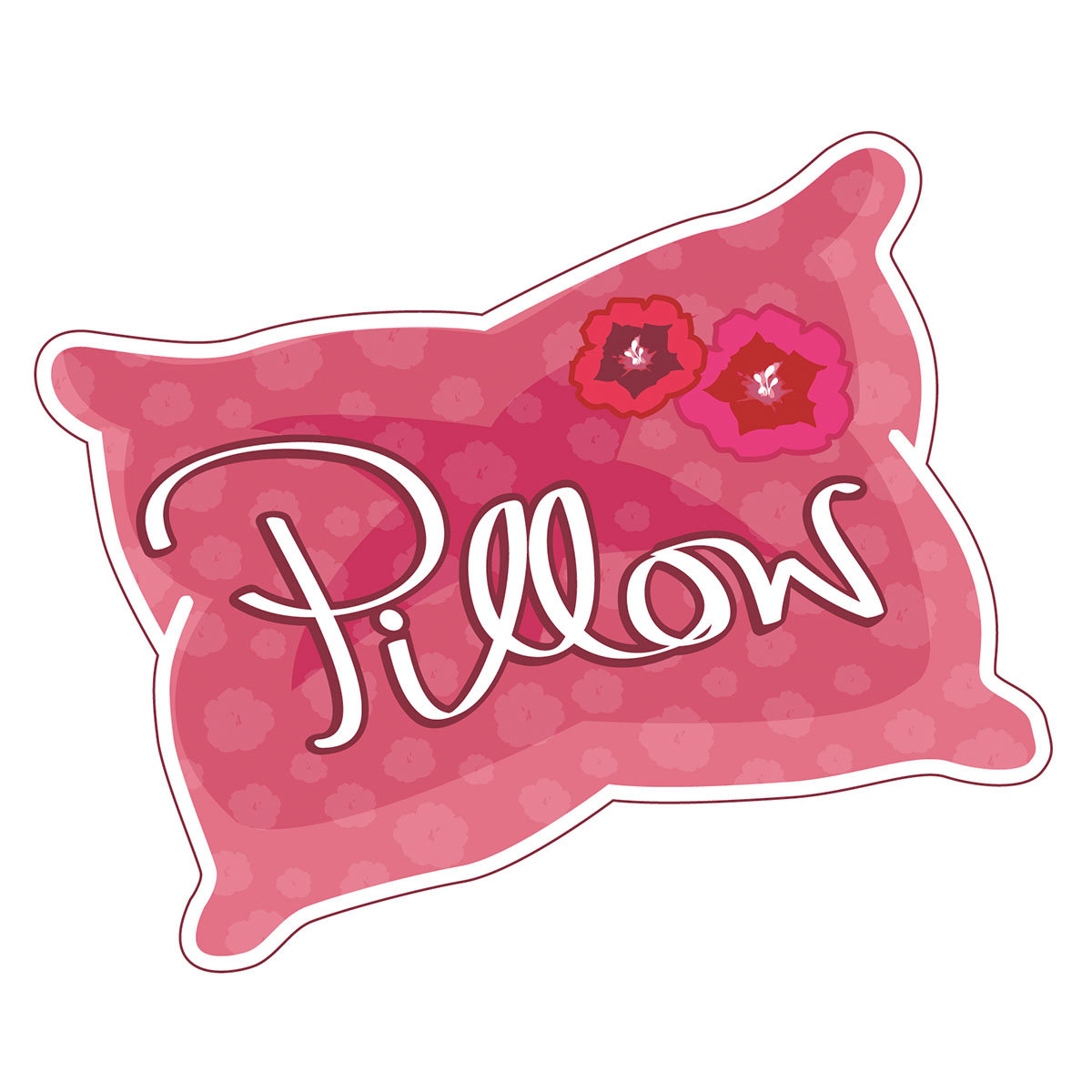 Kissen-Nelke Red Pillow | #3