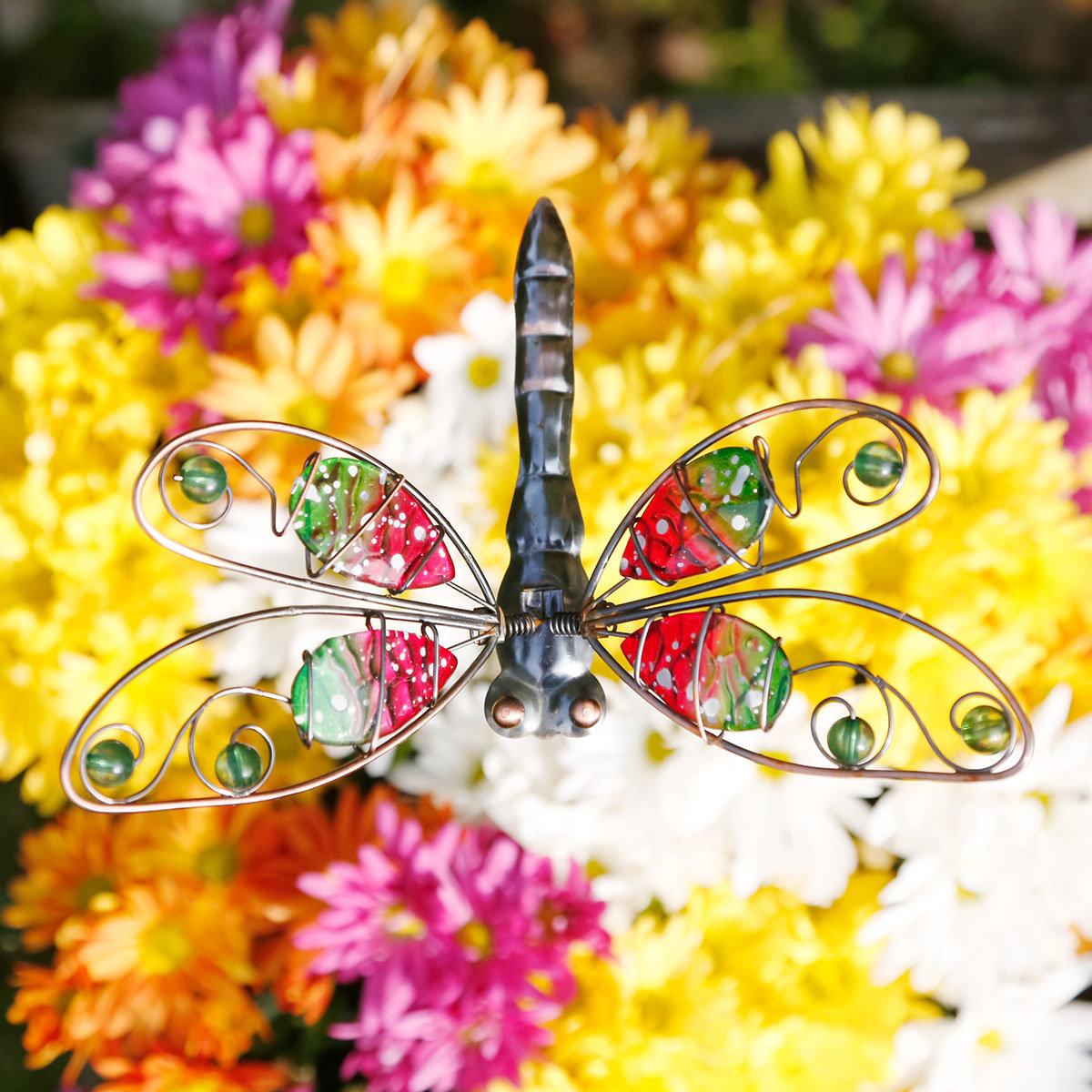 Topfstecker Libelle & Schmetterling, 2er-Set | #3