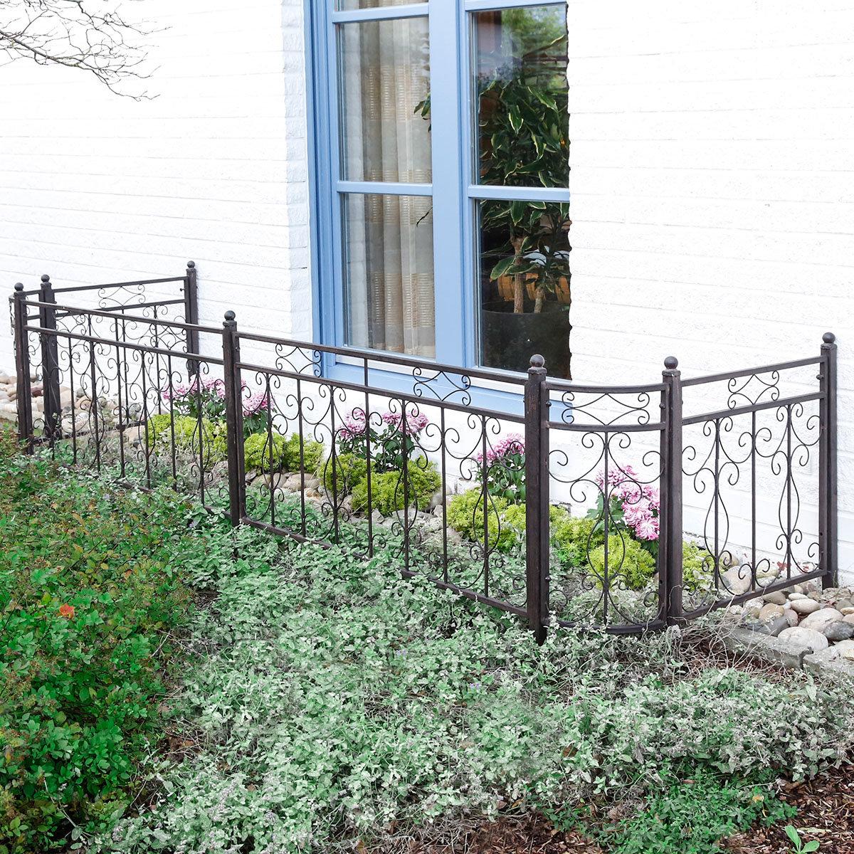 Gartenzaun Country Garden, kurz | #3