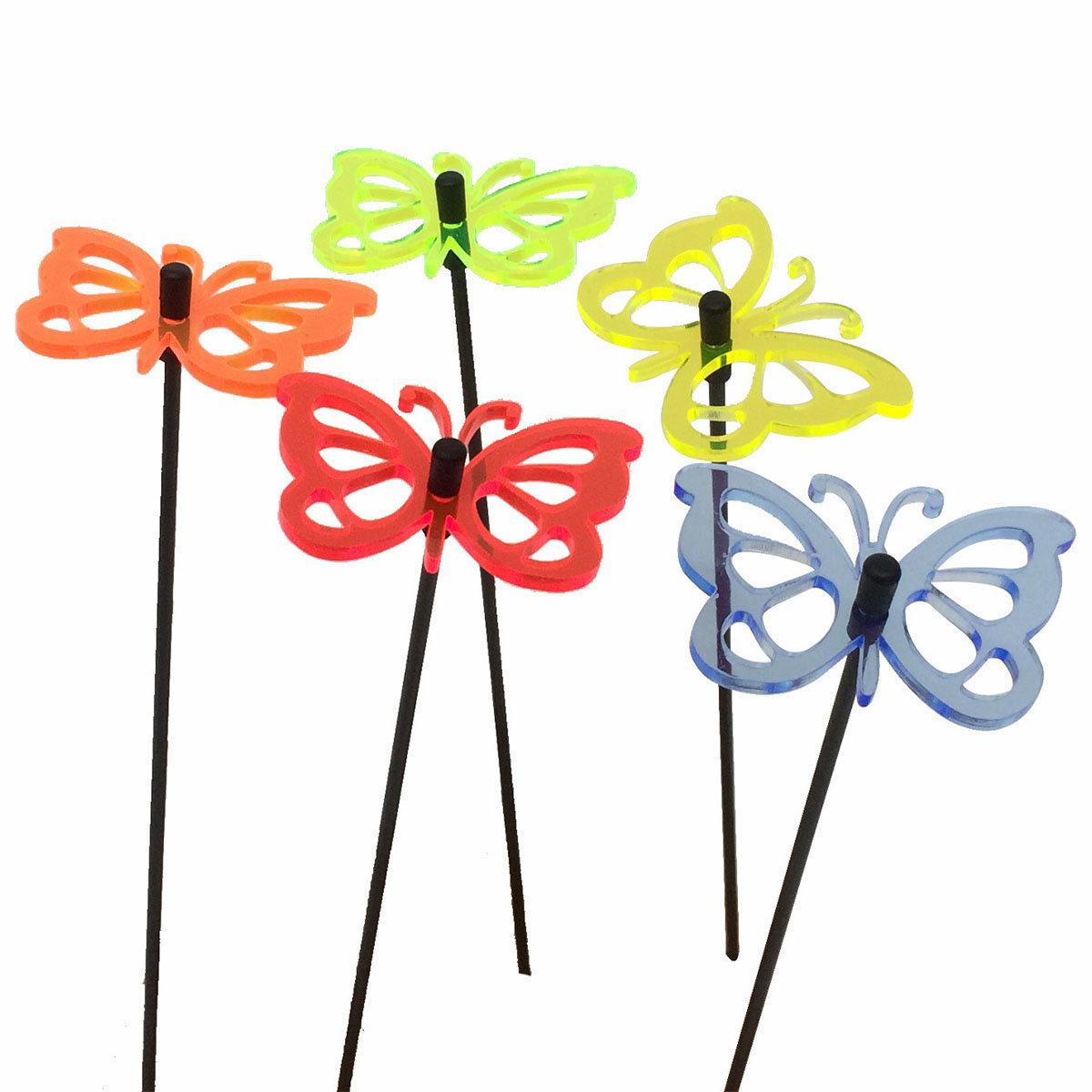 Acryl Sonnenfänger Happy Butterflies, 5er-Set | #3