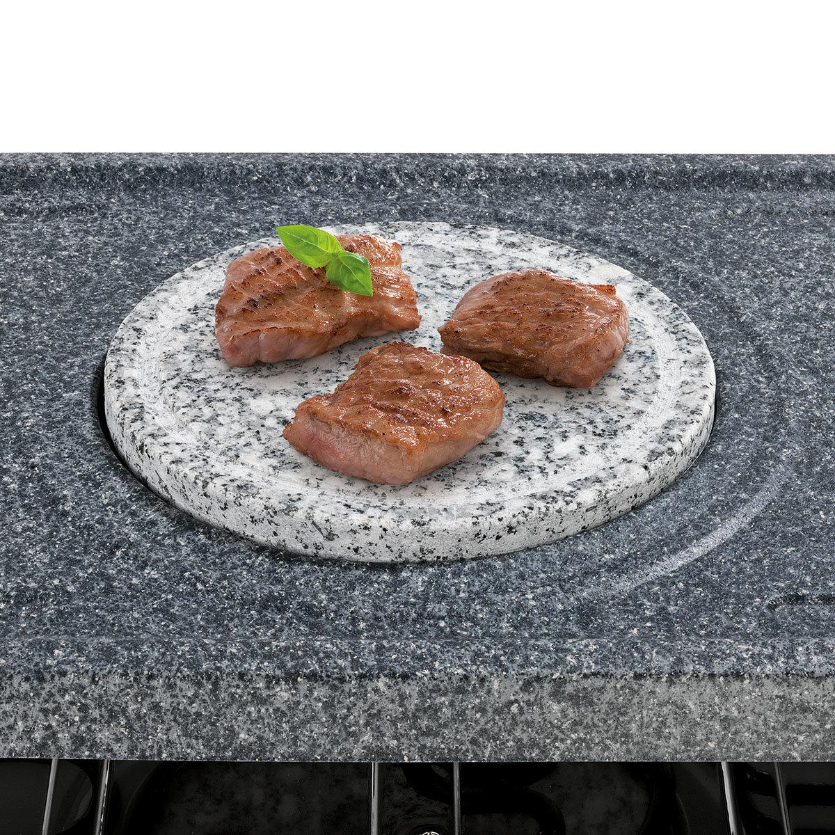 Raclette- & Fondue-Set im Granit-Look | #3