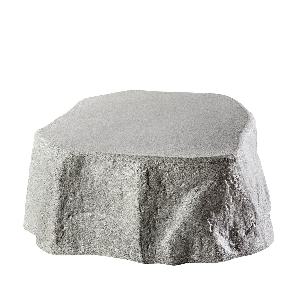 Hinkelstein mit Pflanzschale, Granit-Optik | #3