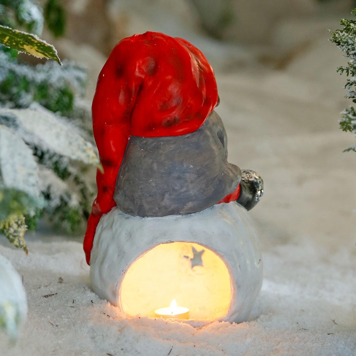 Winterwichtel Oskar auf Schneeball | #3