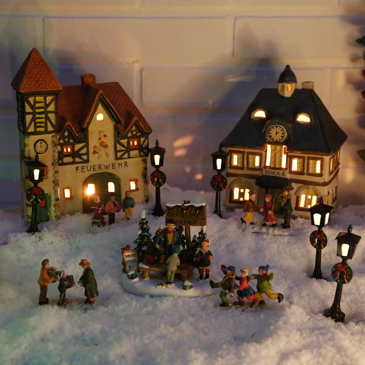 Miniatur-Lichthaus Alte Schule | #3