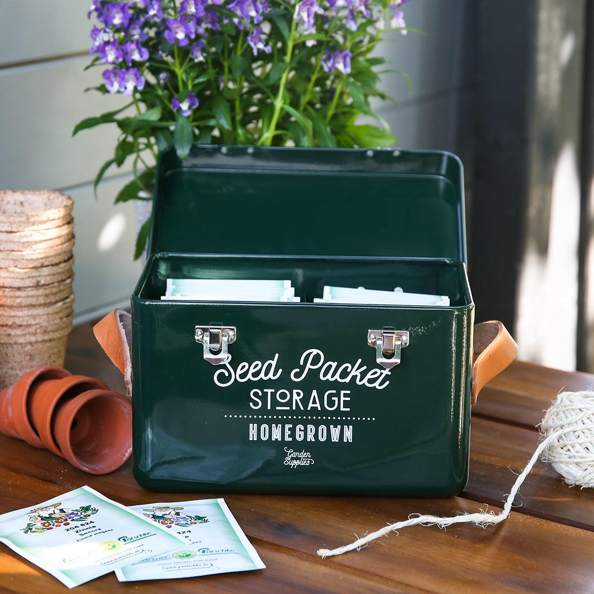 Burgon & Ball Saatgut-Aufbewahrungsbox | #3