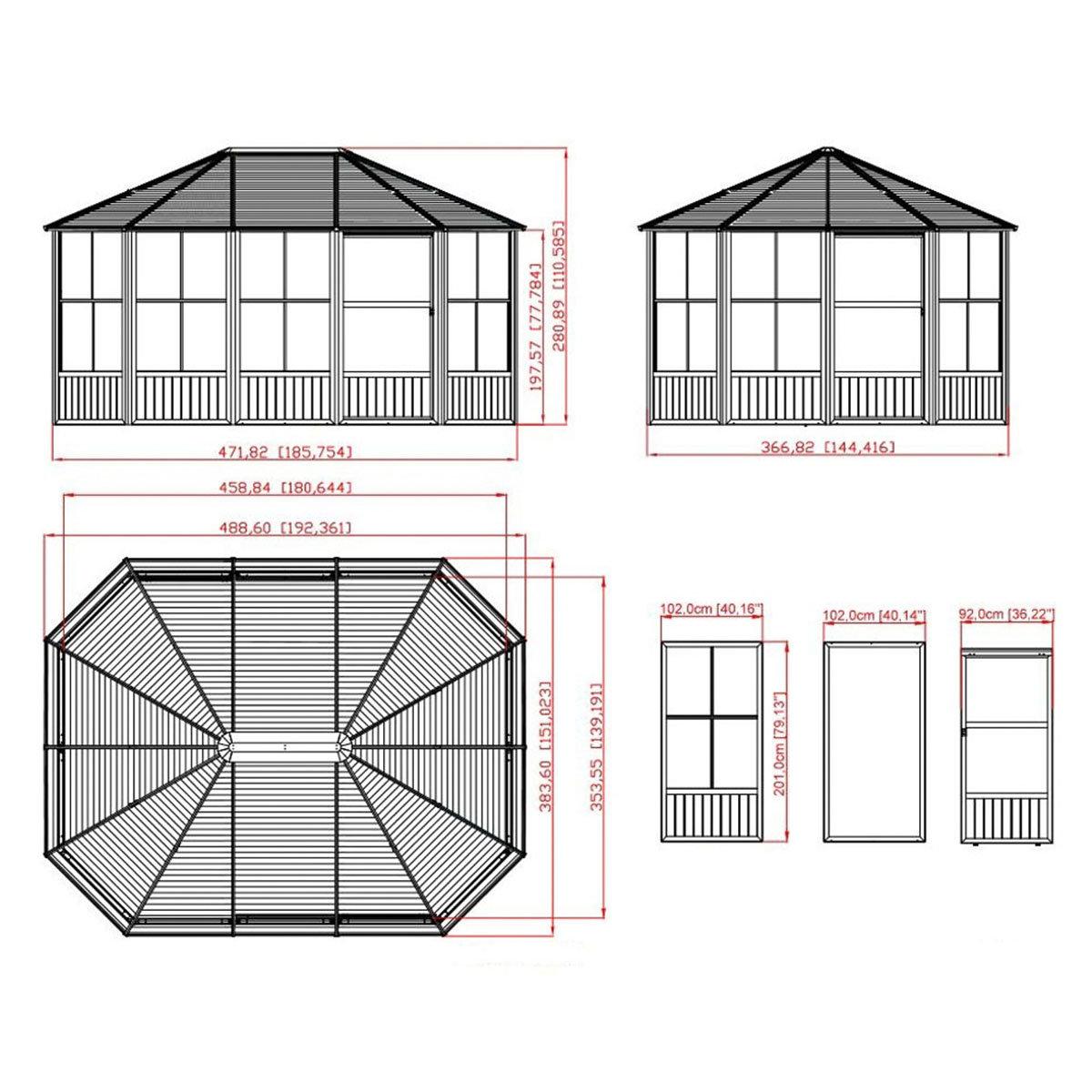 Pavillon Charleston 12x15   #3
