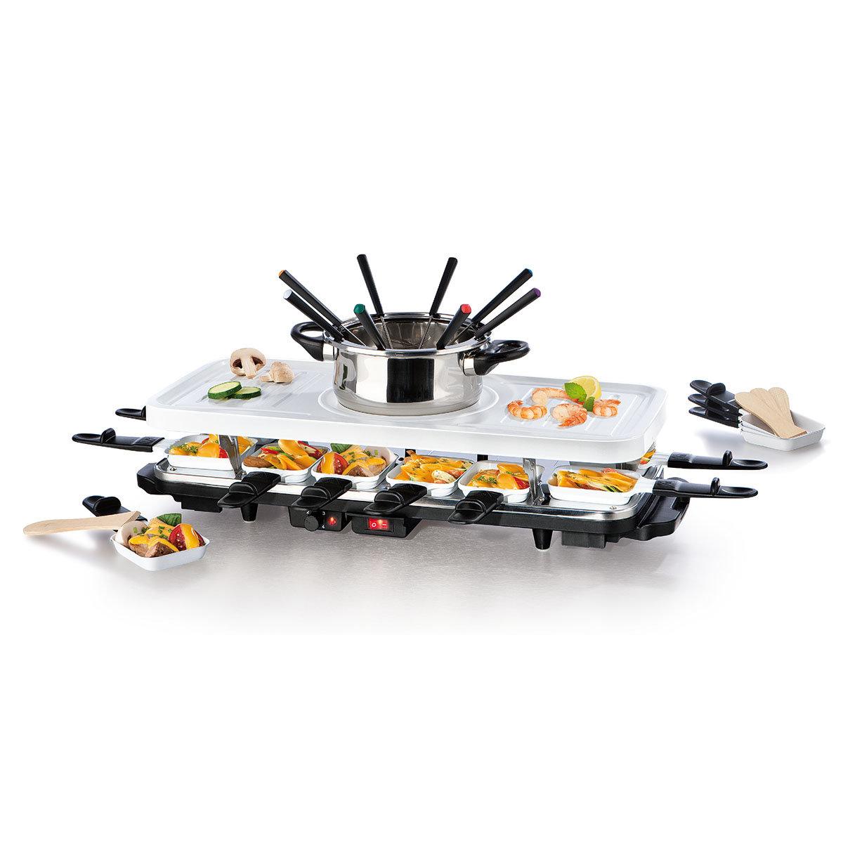Raclette- & Fondue-Set mit Keramik-Antihaftbeschichtung | #3
