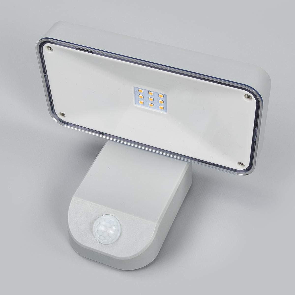 Solar-Außenwandlampe Maik mit Bewegungsmelder, 12x18x12,7 cm, Kunststoff, grau | #3