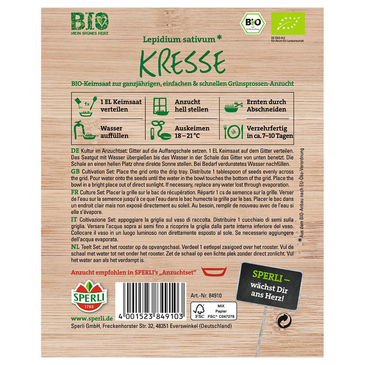 BIO Grünsprossen Kresse, 50 g | #3