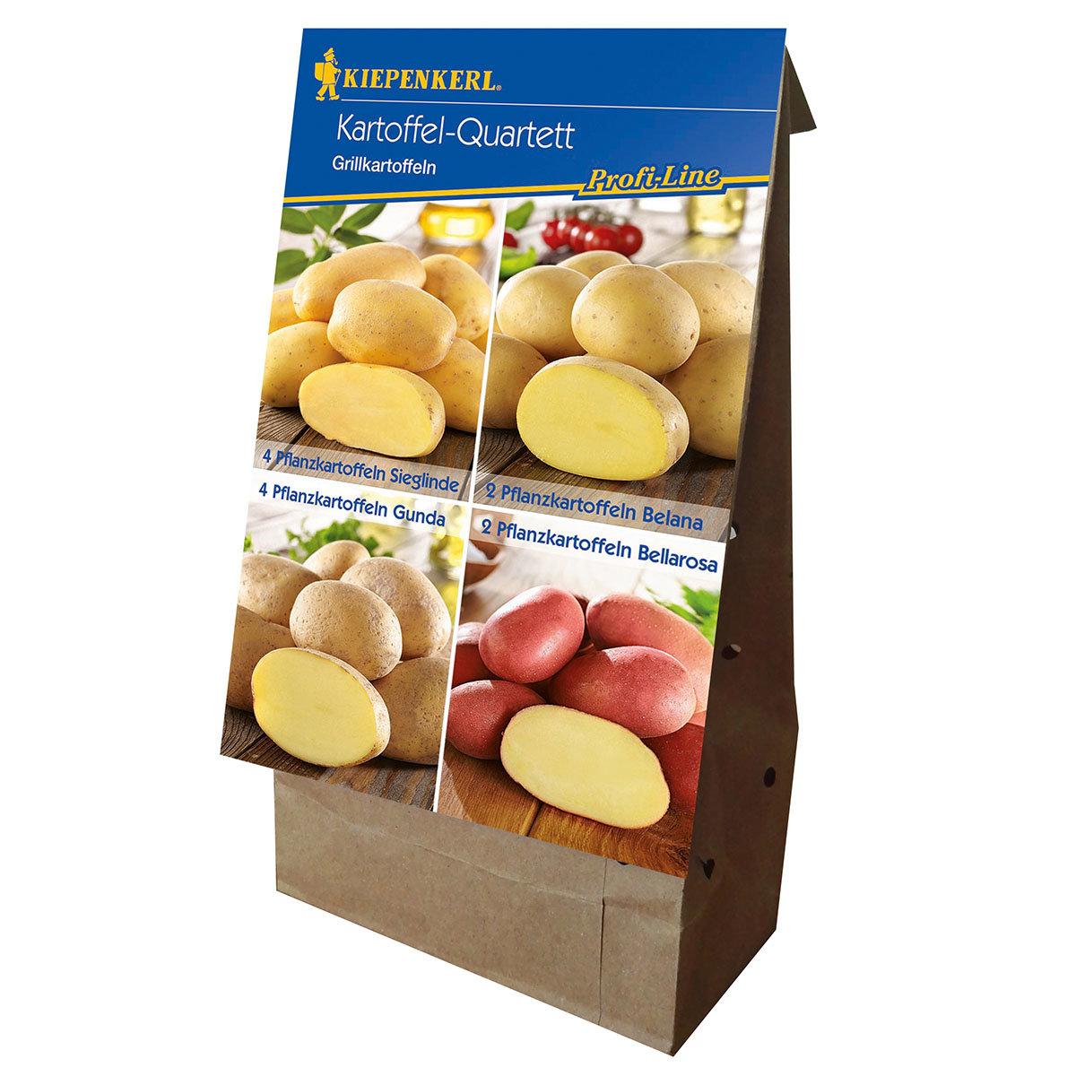Kartoffel-Quartett Grillkartoffeln, 12 Stück | #3
