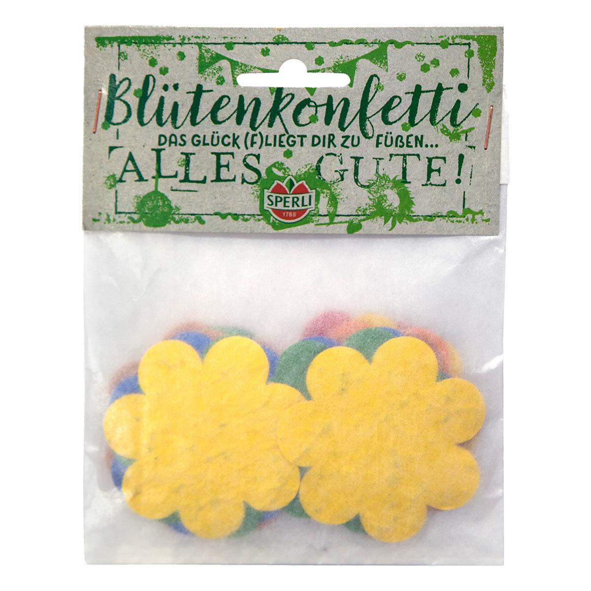 Konfetti aus Saatpapier Blütenkonfetti | #3